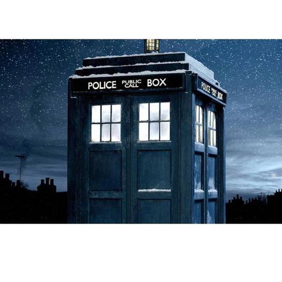 Sac A Dos Doctor Who Tardis Bleu Dessin Anime Le Cosplay Sac D