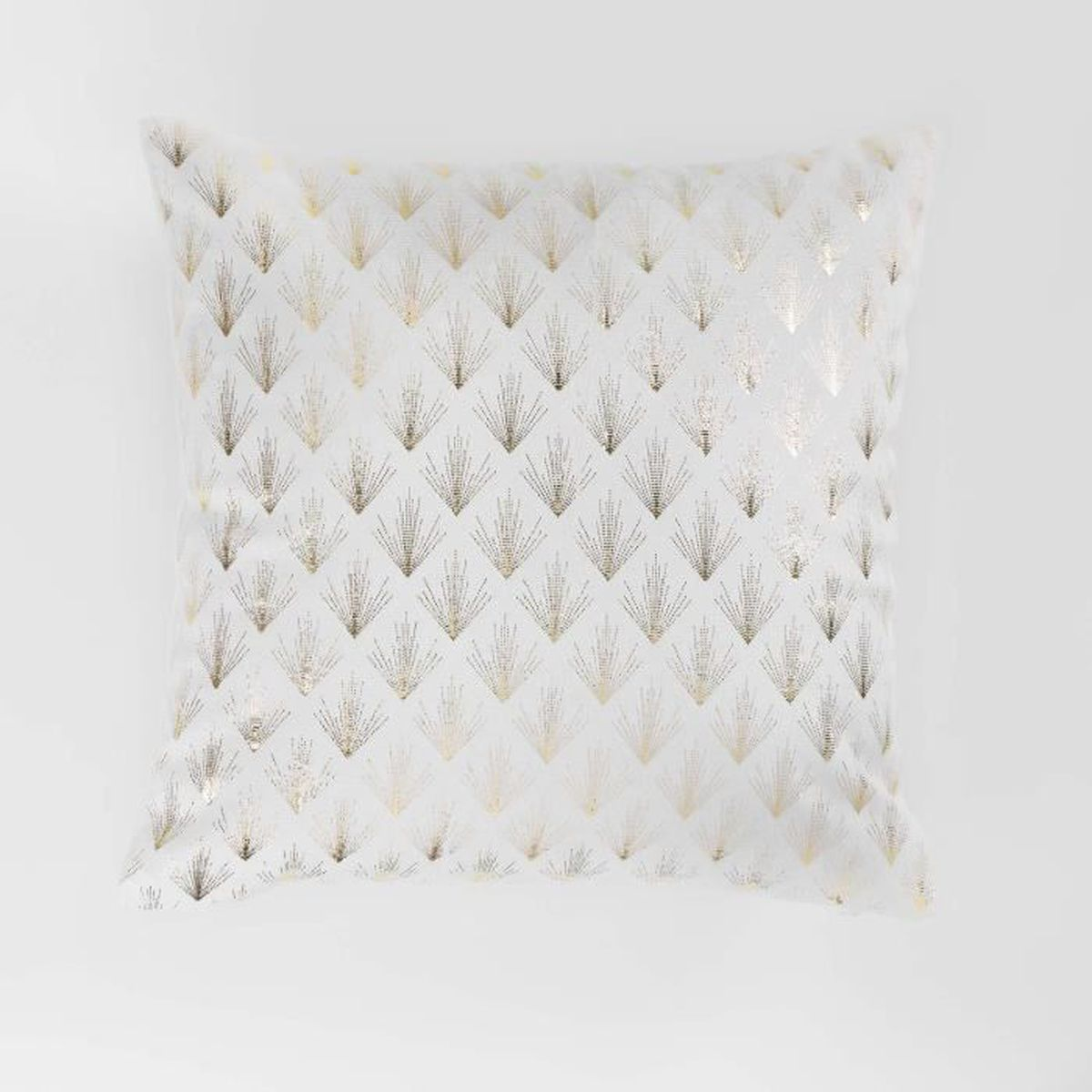 Housse coussin 40 40 blanc