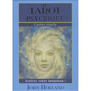 LIVRE PARANORMAL Le tarot psychique. Avec 65 cartes oracle