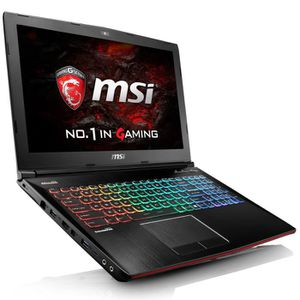ORDINATEUR PORTABLE MSI PC Portable Gamer - GE62VR 6RF-037xfr - 15,6''