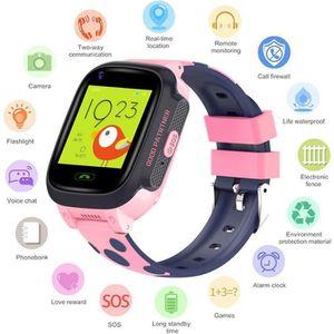 MONTRE CONNECTÉE Montre Intelligente Enfants 4G SIM Smartwatch Rose