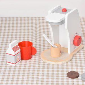 COMBINÉ EXPRESSO CAFETIÈRE Machine à cafe enfant Expresso Jouet d'Imitation C