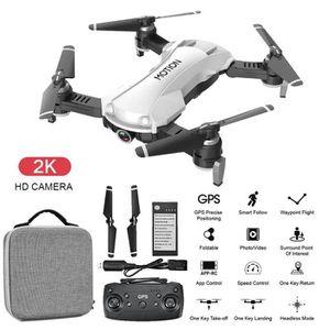 DRONE Drone GPS WIFI 5G FPV 2K 12MP Caméra selfie Pliabl