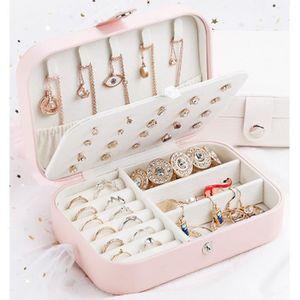 BOITE A BIJOUX  Vintage boîte de rangement bijoux Boîte à bijoux