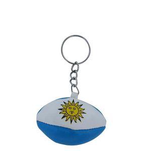 PORTE-CLÉS Porte cles ballon rugby drapeau argentine