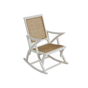 rocking chair bois blanc achat vente rocking chair bois blanc pas cher cdiscount. Black Bedroom Furniture Sets. Home Design Ideas