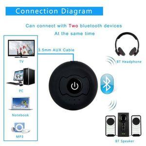 TRANSMETTEUR FM Bluetooth CSR4.0 émetteur de musique audio multipo