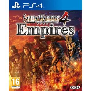 JEU PS4 Samurai Warriors 4 Empire Jeu PS4 (pORTUGAL iMPORT