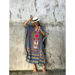 ROBE Sublime Robe Africaine - Violet, Taille unique