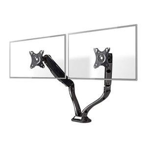 FIXATION - SUPPORT TV Nedis MMNTDO100BK Pied pour 2 écrans LCD (full-mot