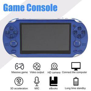 CONSOLE PSP Console de jeu portable 4.3'Écran PSP bleu avec Ca