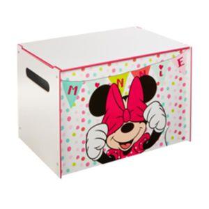 BANC Coffre minnie Mouse pour chambre enfant - Dim : L