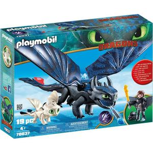 UNIVERS MINIATURE PLAYMOBIL 70037 - Dragons 3 - Krokmou et Harold av