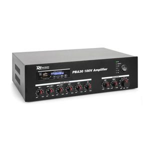 AMPLI PUISSANCE Power Dynamics PBA30 Amplificateur sono DJ 100V -