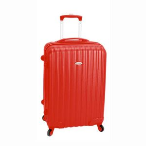 VALISE - BAGAGE Valise rigide original robust I 75 cm ROUGE