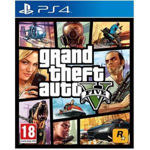 JEU PS4 Grand Theft Auto V PlayStation 4 espagnol