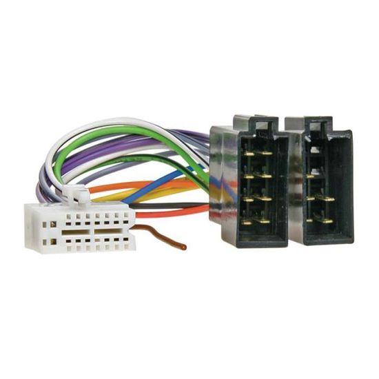 C/âble adaptateur fiche iSO pour autoradio 16/pins DEH-P88