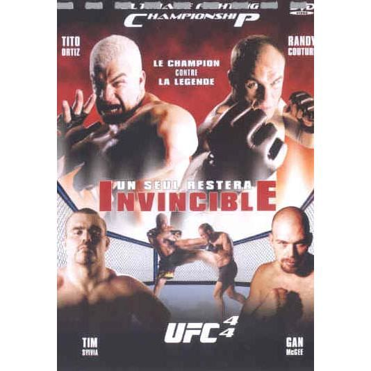 DVD Ufc 44 : invincible
