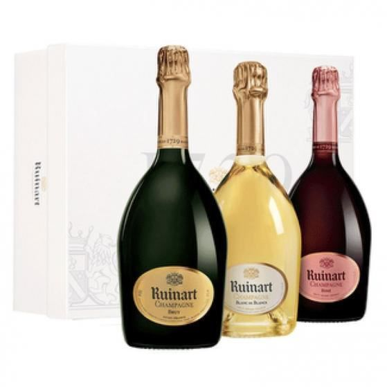 Coffret collection Ruinart Brut - Rosé - Blanc de Blancs