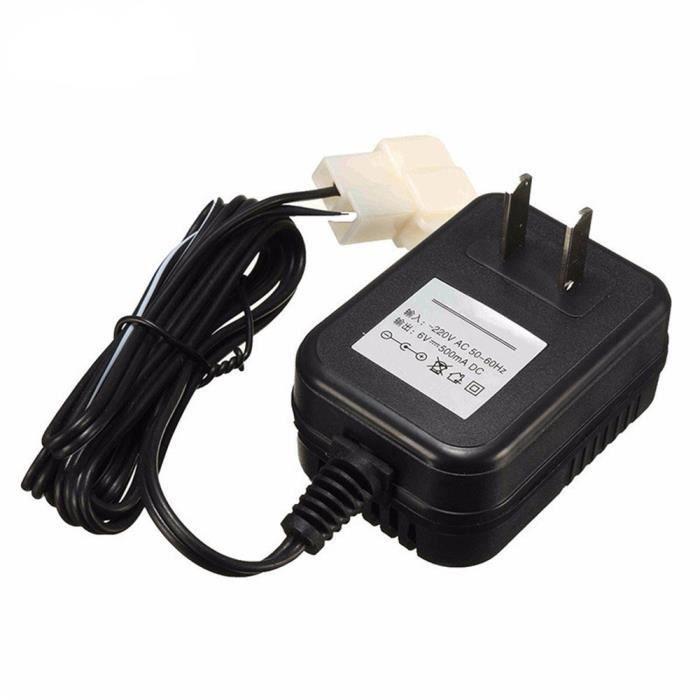 6V Chargeur Adaptateur secteur Alimentation pour Kid TRAX VTT Quad tour sur la voiture IN9 ph4097
