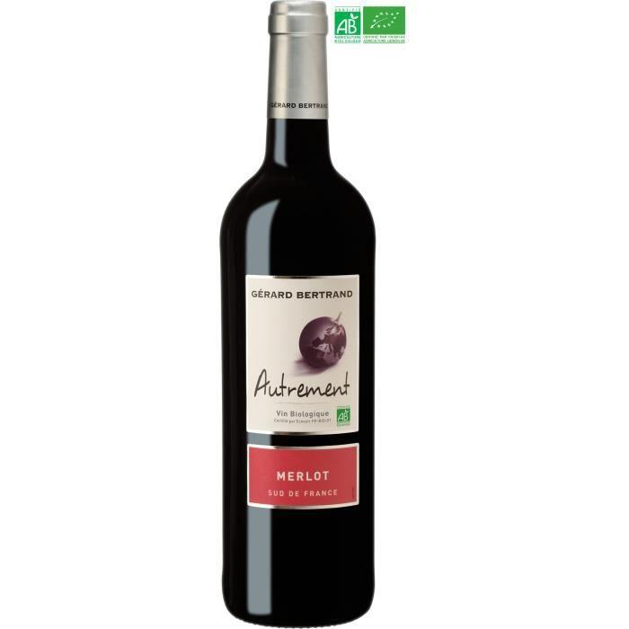 Gérard Bertrand Autrement Merlot IGP Pays d'Oc - Vin rouge du Languedoc-Roussillon - Bio