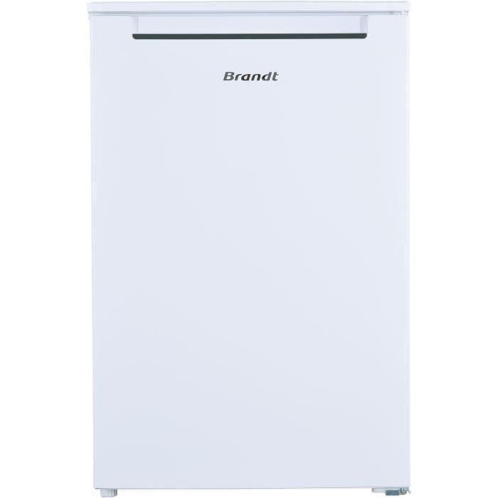 BRANDT BST514FSW - Réfrigérateur Table Top - 116 L (102L + 14L) - Froid statique - L 50 x H 85 cm - Blanc
