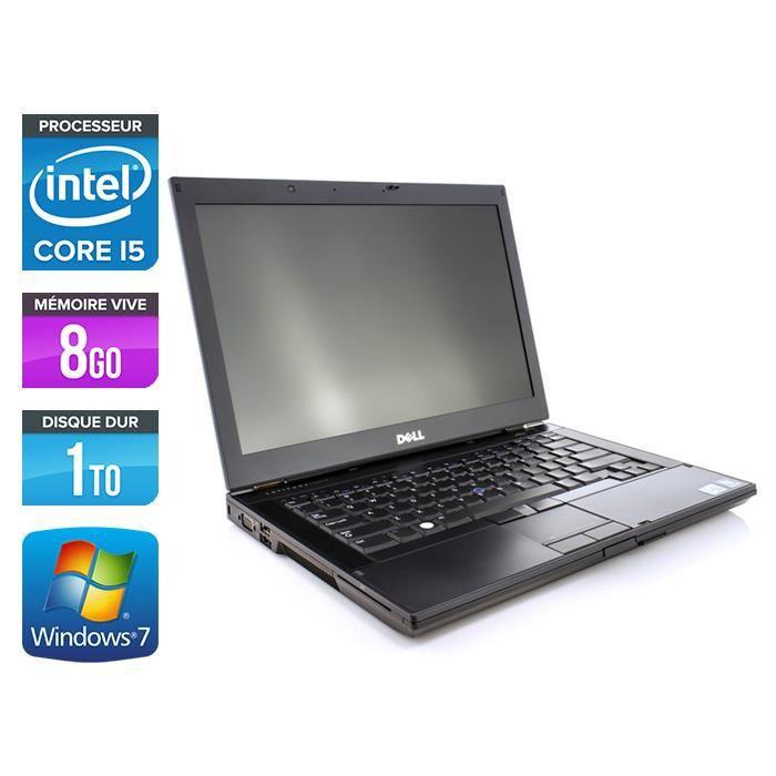 Dell E6410 - Core i5 M560 - 8Go - 1To - Webcam