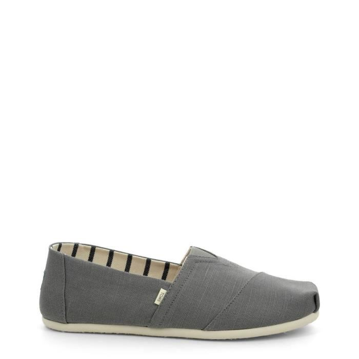 Chaussures Slip-on grey Masculin - TOMS - 10012622