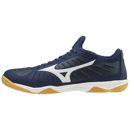 Chaussures de football Mizuno Rebula sala elite indoor - noir/blanc - 40,5