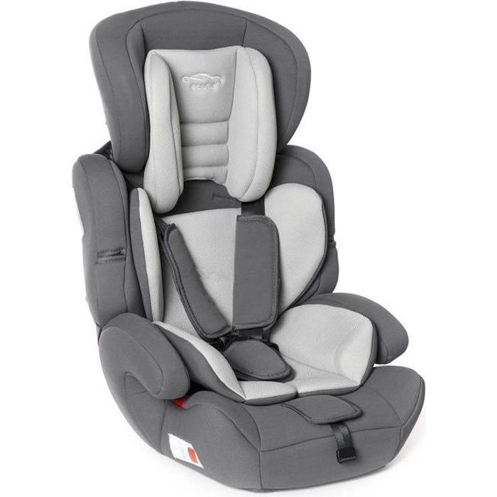 NEUFU Siège Auto évolutif Confort up GROUPE 123 - 9 à 36kg ECE R44/04 - Gris