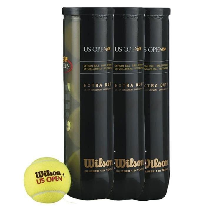 Wilson Balles de tennis US Open - 1 Tubes 4 balles