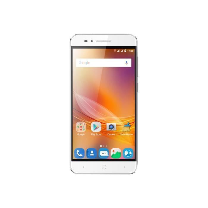 ZTE Blade A610 Smartphone double SIM 4G LTE 16 Go microSDHC slot GSM 5- 1 280 x 720 pixels TFT RAM 2 Go 13 MP (caméra avant de 5…