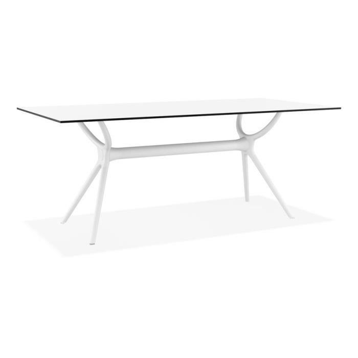 Table interieur-exterieur \'OCEAN\' design en matière ...