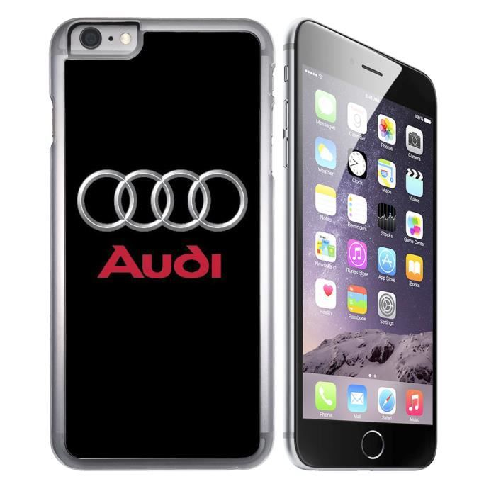 coque iphone 7 audi silicone