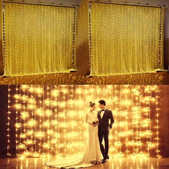 GUIRLANDE LUMINEUSE INT Guirlande lumineuse - 300 LED - Blanc
