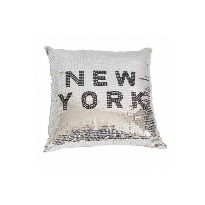 coussin disco new york gris 40 x 40 cm achat vente coussin cdiscount. Black Bedroom Furniture Sets. Home Design Ideas