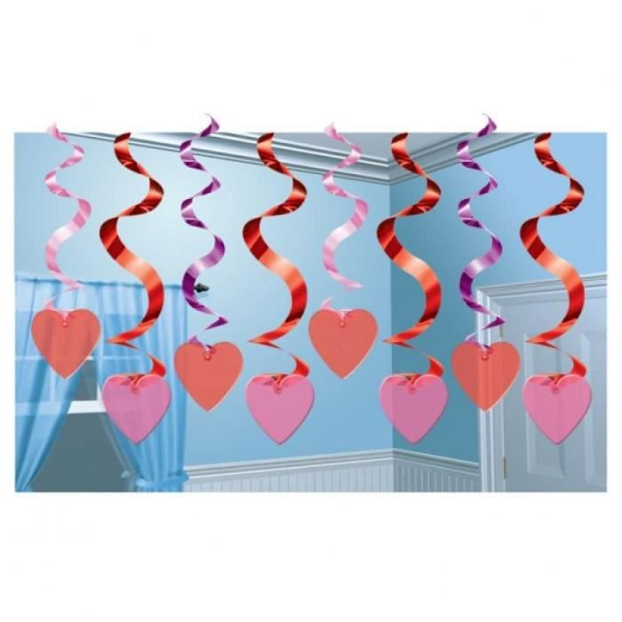 D coration coeur saint valentin achat vente d co de for Decoration st valentin