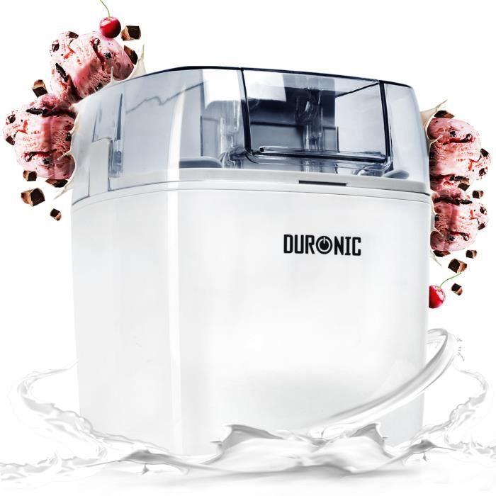 SORBETIÈRE Duronic IM540 Sorbetière électrique à glace/sorbet