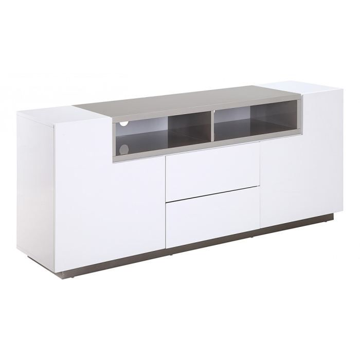 buffet blanc les bons plans de micromonde. Black Bedroom Furniture Sets. Home Design Ideas