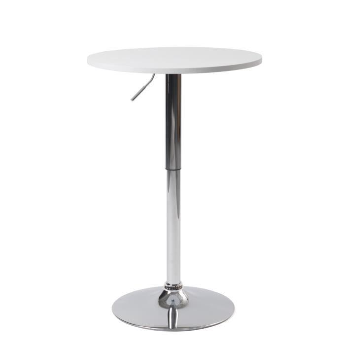 MANGE-DEBOUT KAYELLES Table de Bar Design hauteur réglable plat