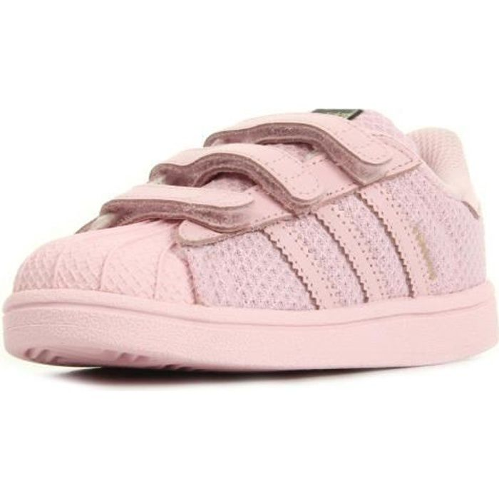 Baskets adidas Originals Superstar Cf Inf Rose - Achat ...