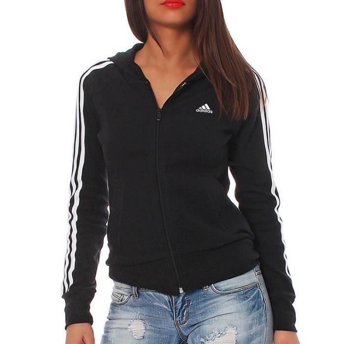 veste adidas femme achat vente veste adidas femme pas cher cdiscount. Black Bedroom Furniture Sets. Home Design Ideas