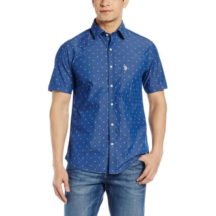 Men's U.s.polo.assn. Casual Shirt RILOD Taille-S