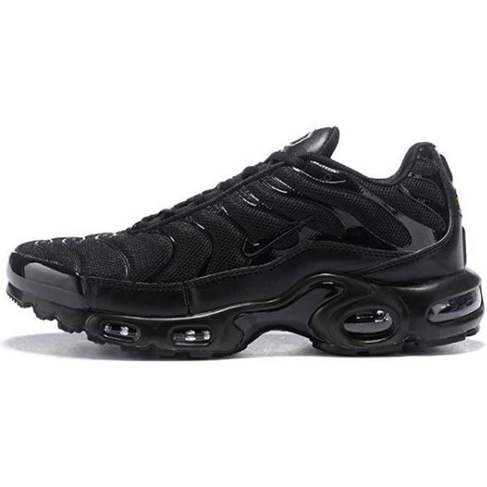Baskets NIKEs AIRs Max TN Plus Homme Noir Noir - Cdiscount Chaussures