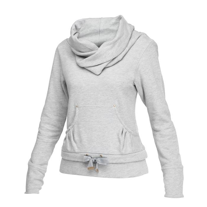 reebok sweat femme gris achat vente sweatshirt cdiscount. Black Bedroom Furniture Sets. Home Design Ideas