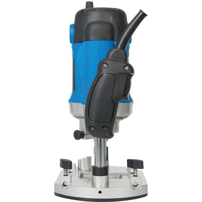 Défonceuse électrique Silverline 2 050 W, queue de 8, 10 et 12 mm