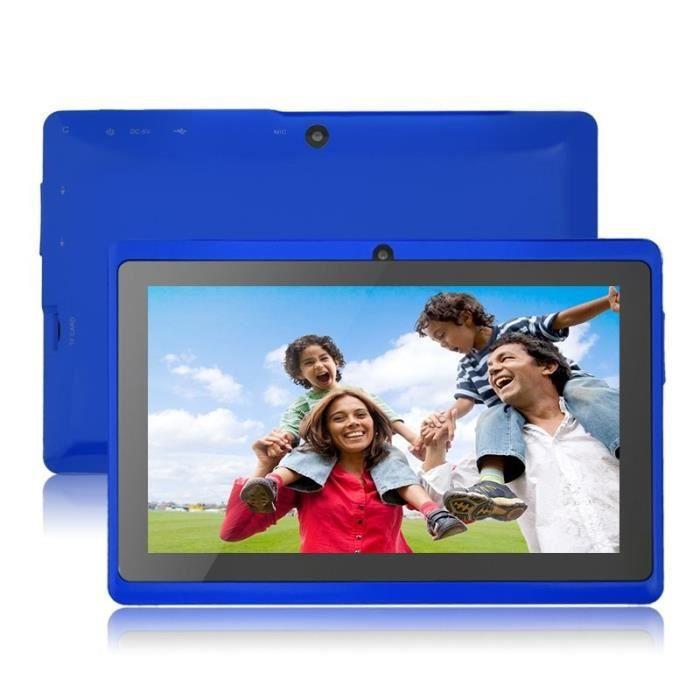 """TABLETTE TACTILE Tablet Xgody T73Q Ecran 7 """" Quad Core 512+8GB Bleu"""