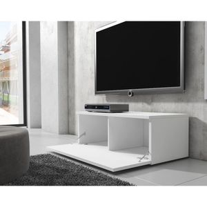 meuble tv noir laquee achat vente meuble tv noir. Black Bedroom Furniture Sets. Home Design Ideas