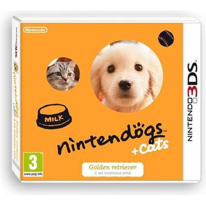 JEU 3DS Nintendogs + Cats Golden Jeux 3DS