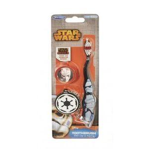 BROSSE A DENTS Brosse à Dents Enfant Star Wars et Porte-clé